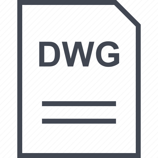 document, dwg, file, name icon