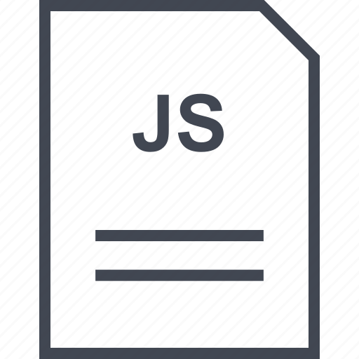 document, file, js, name icon