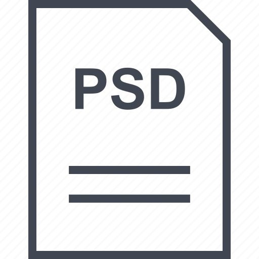 document, file, name, psd icon