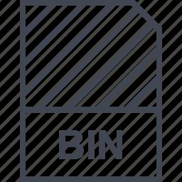 bin, document, file, name icon