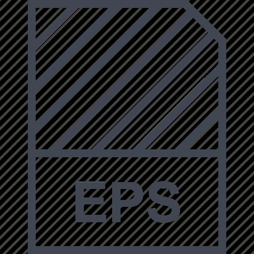 document, eps, file, name icon