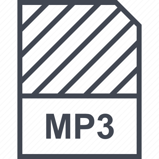 document, file, mp3, name icon