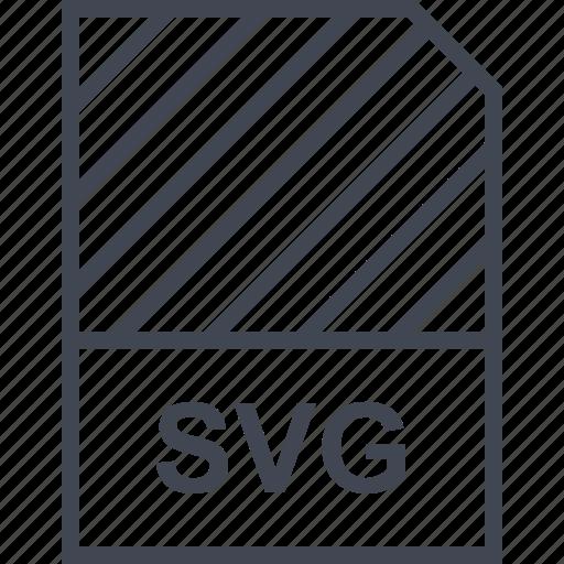 document, file, name, svg file icon