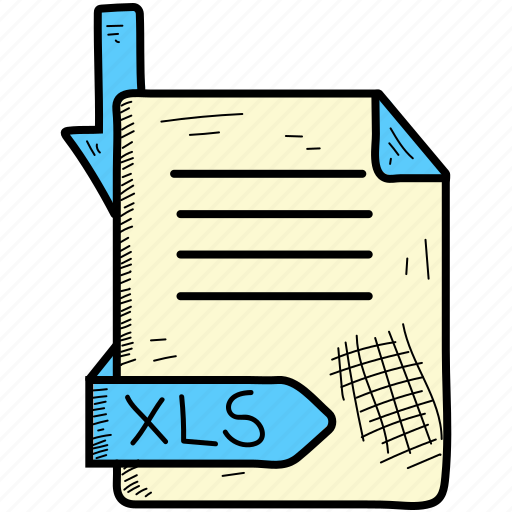 Document, file, format, xls icon - Download on Iconfinder