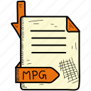 document, file, format, mpg