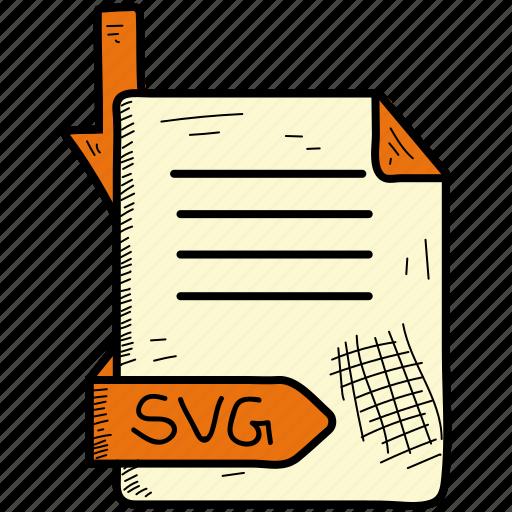 Document, file, format, svg icon - Download on Iconfinder