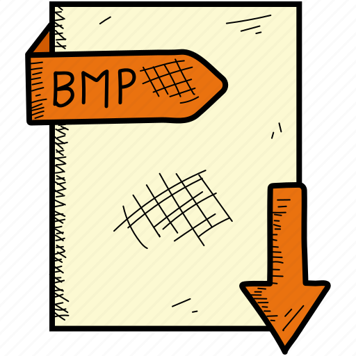 bmp, document, file, format icon