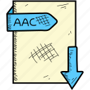 aac, document, file, format