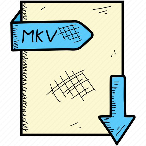 extention, file, format, mkv icon