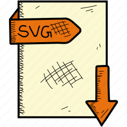 document, file, format, svg icon