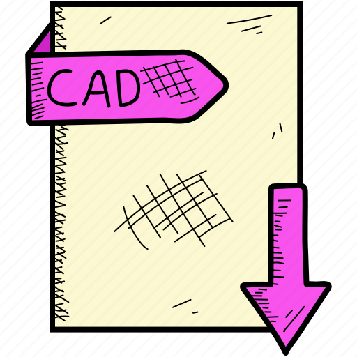 cad, document, file, format icon