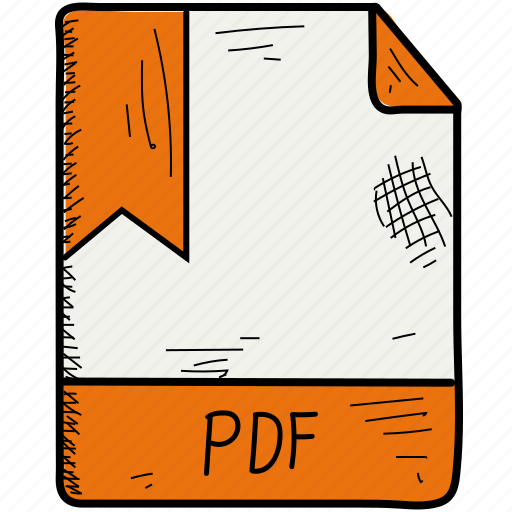 document, file, format, pdf icon