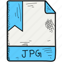 document, file, format, jpg icon
