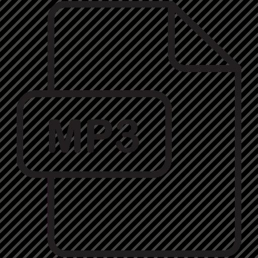 file, mp3, music, save, send, share, sound icon