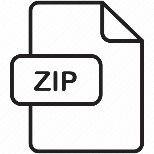file, guardar, save, send, share, zip icon