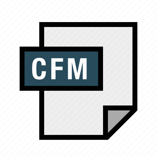 cfm, coldfusion, filetypes icon
