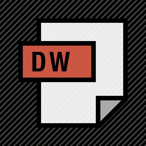 dreamweaver, dw, filetypes icon