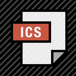 filetypes, ics icon