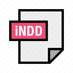 filetypes, indd, indesign icon