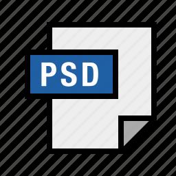 filetypes, psd icon