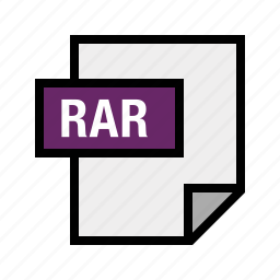 archive, filetypes, rar icon