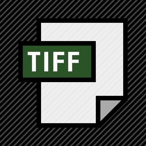 filetypes, image, tiff icon