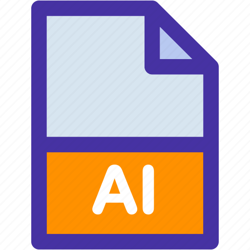 data, document, extension, file, format, illustratior, page icon