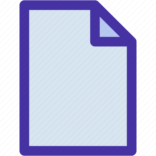 blank, data, document, file, note, page, paper icon
