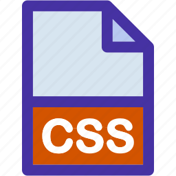 css, data, document, extension, file, format, sheet icon