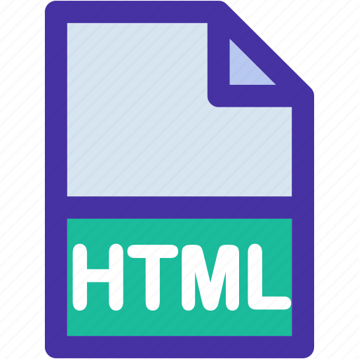 data, document, documents, extension, file, format, html icon