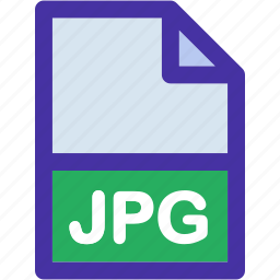 data, document, extension, file, format, jpg icon
