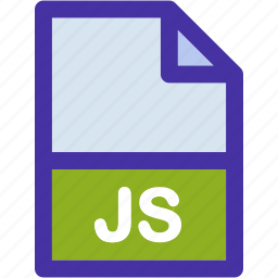 data, document, extension, file, format, js icon