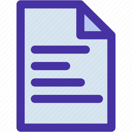 data, document, file, format, letter, mail, note icon