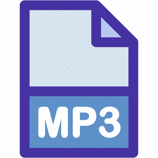 data, document, extension, file, format, mp3 icon