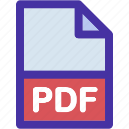 data, document, extension, file, format, pdf icon