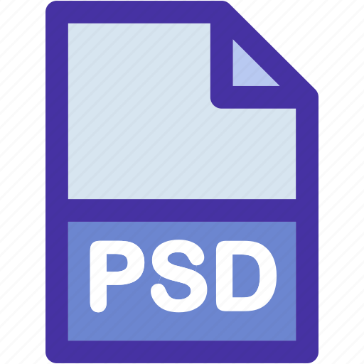 data, document, extension, file, format, photoshop, psd icon