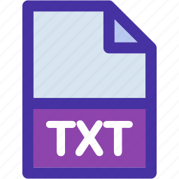document, extension, file, format, office, paper, txt icon