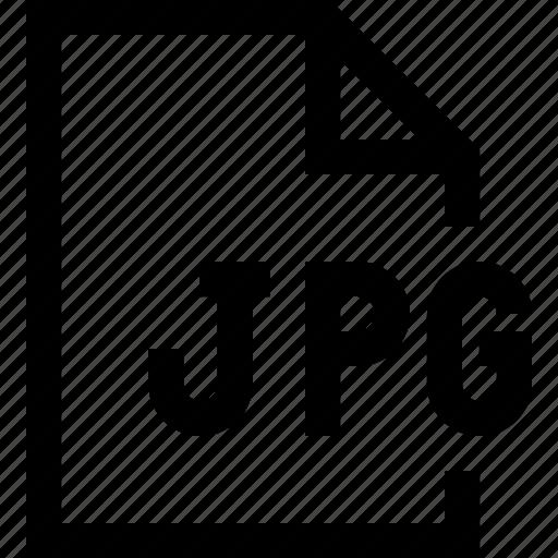 document, file, jpg file icon