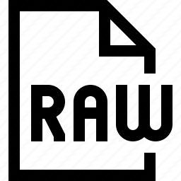 document, file, raw file icon