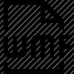 document, file, wmf icon