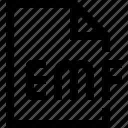 document, emf, file icon