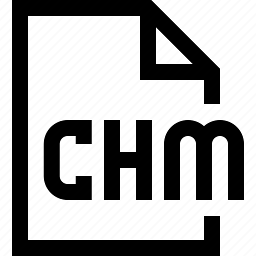 chm, document, file icon