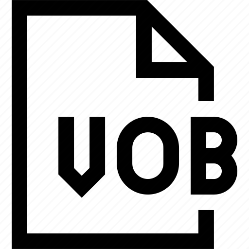 document, file, vob icon