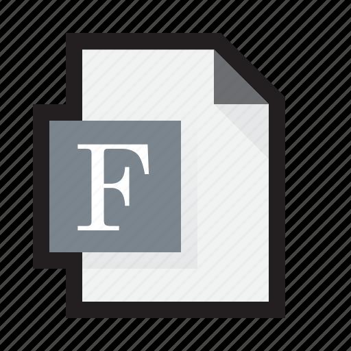 font, letter, postscript, true type, type, typography icon