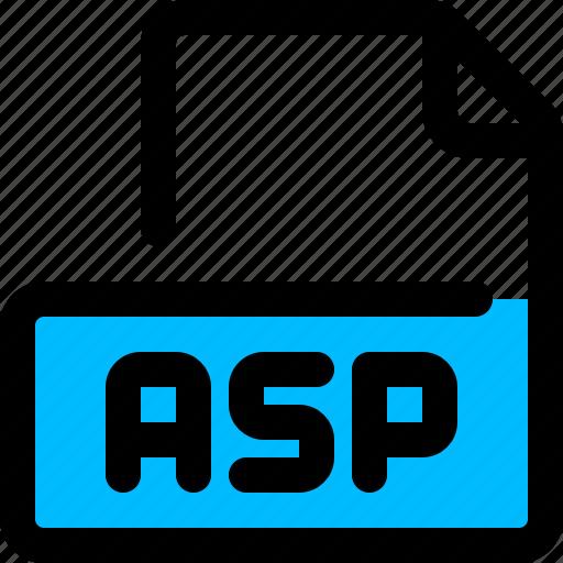 asp, coding, file, format icon