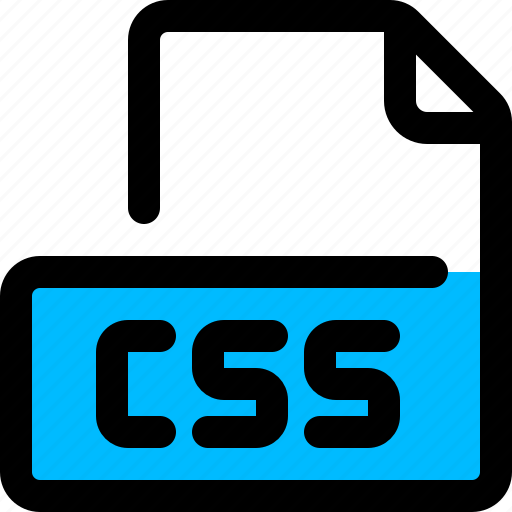 cascading style sheets, css, file, format icon