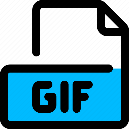 animated file, filetype, format, gif, graphics interchange format icon