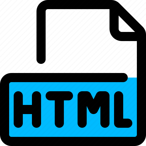 file, filetype, html, hypertext, web page icon