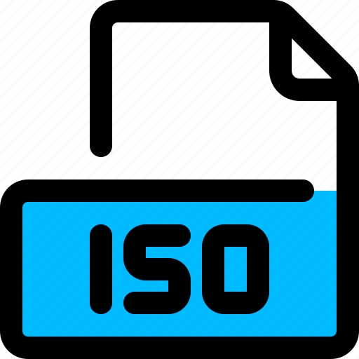 filetype, format, iso, iso image icon