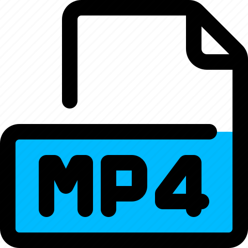 file, filetype, mp4, video icon